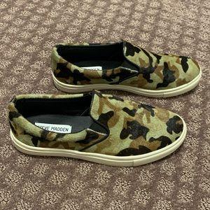 Steve Madden Camo Slip-On Shoe